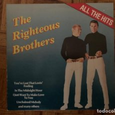 Discos de vinilo: THE RIGHTEOUS BROTHERS ?– ALL THE HITS SELLO: DUCHESSE ?– PL 152024 FORMATO: VINYL, LP, COMPILATION . Lote 150256782