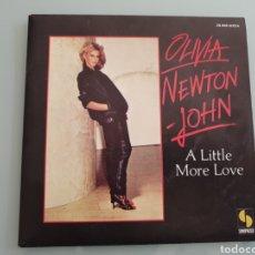 Disques de vinyle: SINGLE. OLIVIA NEWTON JOHN. A LITTLE MORE LOVE. SONOPRESSE. 1978. MADE IN FRANCE.. Lote 150257393