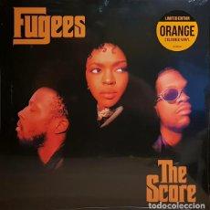 Discos de vinilo: LP FUGEES - THE SCORE 2LP VINILO NARANJA. Lote 150261338
