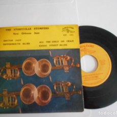 Discos de vinilo: THE STORYVILLE STOMPERS-EP DOCTOR JAZZ +3. Lote 150264870