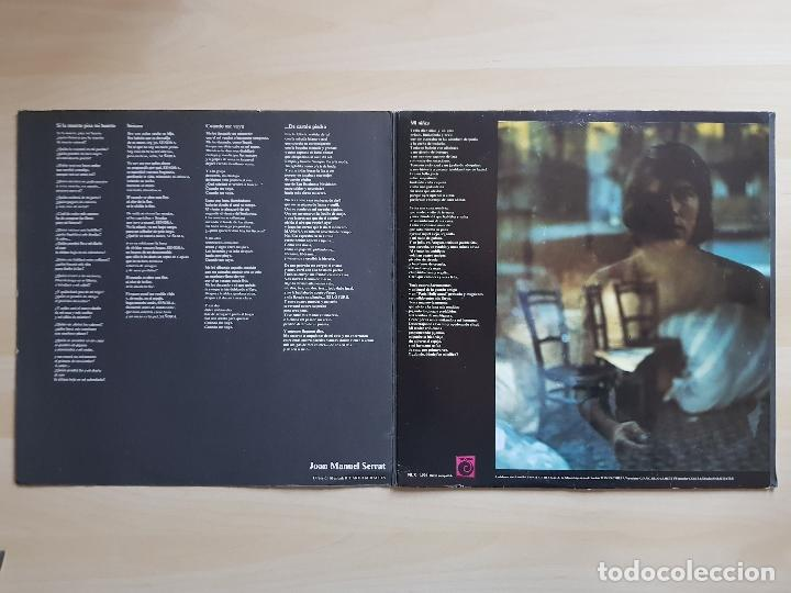 Discos de vinilo: JOAN MANUEL SERRAT - LP - VINILO - NOVOLA - 1970 - Foto 3 - 150273962