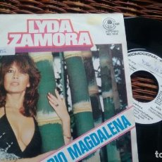 Discos de vinilo: SINGLE (VINILO)-PROMOCION- DE LYDA ZAMORA AÑOS 70. Lote 150277246