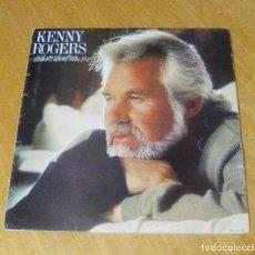 Discos de vinilo: KENNY ROGERS - WHAT ABOUT ME? (LP 1984, STARCALL SFL1-0110, ENCARTE CON LETRAS). Lote 150282630