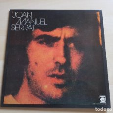 Discos de vinilo: JOAN MANUEL SERRAT - LP - VINILO - NOVOLA - 1974. Lote 150286782