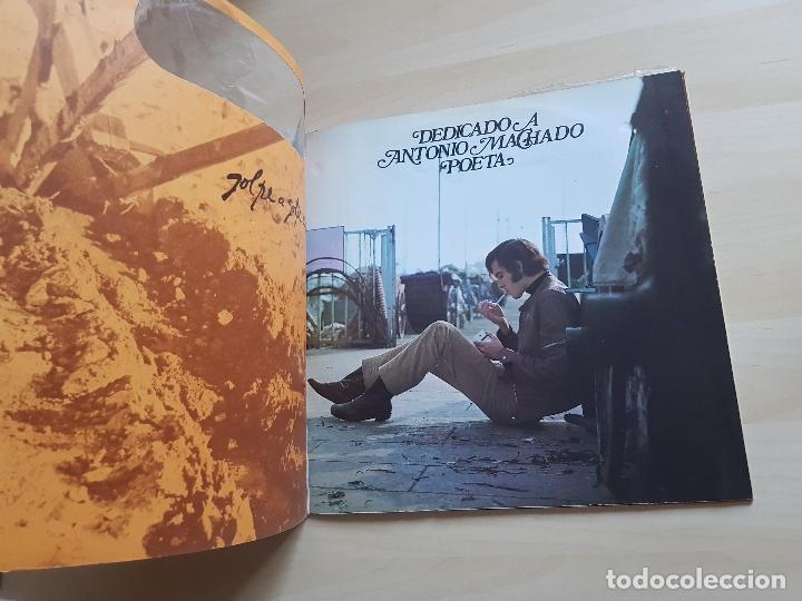 Discos de vinilo: JOAN MANUEL SERRAT - DEDICADO A ANTONIO MACHADO POETA - LP - VINILO - ZAFIRO - 1969 - Foto 2 - 150287130