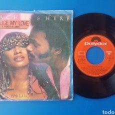 Discos de vinilo: PEACHES AND HERB - I PLEDGE MY LOVE (TE PROMETO MI AMOR) + LOVE LIFT - POLYDOR - 1979. Lote 150288304