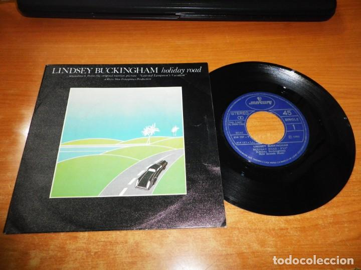 LINDSEY BUCKINGHAM HOLIDAY ROAD NATIONAL LAMPOON´S VACATION SINGLE VINILO ESPAÑA 1983 FLEETWOOD MAC (Música - Discos - Singles Vinilo - Bandas Sonoras y Actores)