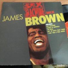 Discos de vinilo: JAMES BROWN (SEX MACHINE MIX) MAXI ESPAÑA 1992 (VIN-G1). Lote 150298550