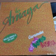 Discos de vinilo: LOS AMAYA (CARAMELOS) MAXI SINGLE 1991 (VIN-G1). Lote 150303222