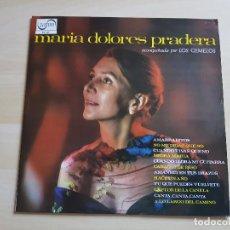 Discos de vinilo: MARIA DOLORES PRADERA - LOS GEMELOS - LP - VINILO - ZAFIRO - 1969. Lote 150303918