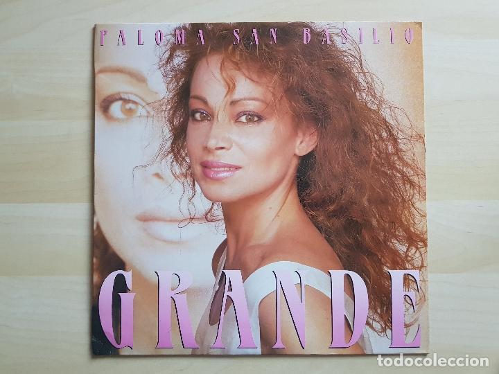 PALOMA SAN BASILIO - GRANDE - LP - VINILO - HISPAVOX - 1987 (Música - Discos - LP Vinilo - Solistas Españoles de los 70 a la actualidad)