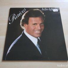 Discos de vinilo: JULIO IGLESIAS - RAICES - LP - VINILO - CBS - 1989. Lote 150305394