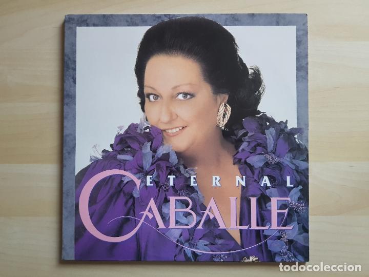 CABALLE - ETERNAL - DOBLE LP - VINILO - BMG - 1991 (Música - Discos - LP Vinilo - Clásica, Ópera, Zarzuela y Marchas)