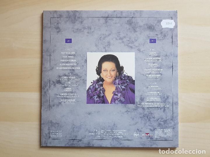 Discos de vinilo: CABALLE - ETERNAL - DOBLE LP - VINILO - BMG - 1991 - Foto 2 - 150305726