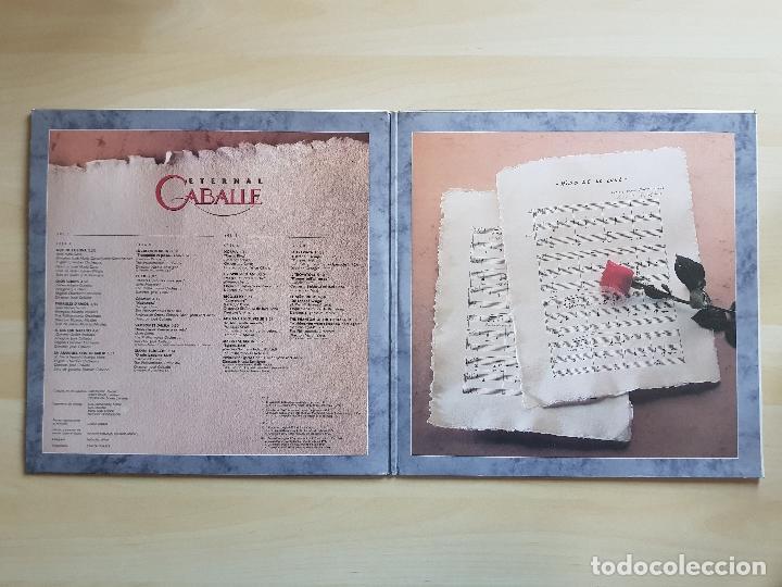 Discos de vinilo: CABALLE - ETERNAL - DOBLE LP - VINILO - BMG - 1991 - Foto 3 - 150305726