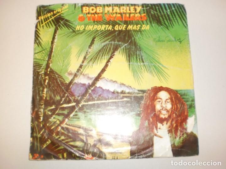 SINGLE BOB MARLEY. NO IMPORTA, QUÉ MÁS DA. ISLAND 1980 SPAIN (PROBADO Y BIEN) (Música - Discos - Singles Vinilo - Reggae - Ska)
