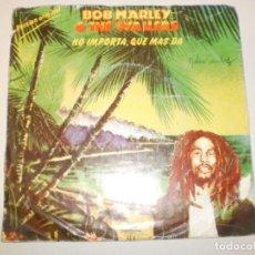 Discos de vinilo: SINGLE BOB MARLEY. NO IMPORTA, QUÉ MÁS DA. ISLAND 1980 SPAIN (PROBADO Y BIEN). Lote 150309942