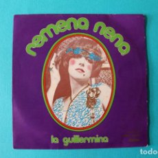 Discos de vinilo: GUILLERMINA MOTTA - REMENA NENA - VINILO 1970. Lote 150312346