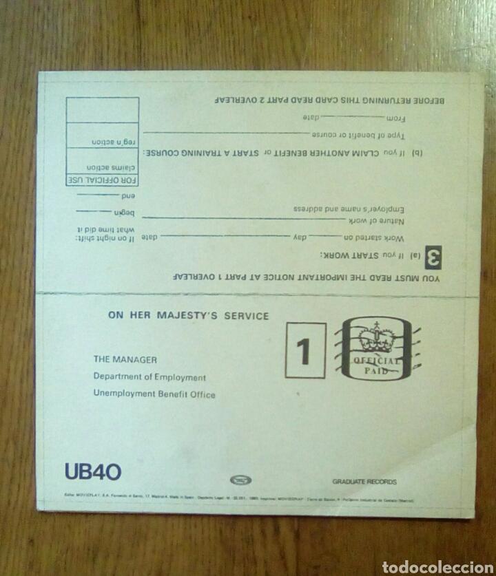 Discos de vinilo: Ub 40 - Signing off, Graduate Records, 1980. Spain. - Foto 2 - 150312553
