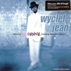 Discos de vinilo: WYCLEF JEAN FEATURING FUGEES * THE CARNIVAL * 2LP 180G AUDIOPHILE VIRGIN VINYL * NUEVO. Lote 150313146