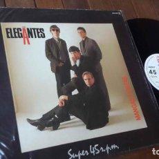 Discos de vinil: LOS ELEGANTES MAXI SINGLE MANGAS CORTAS MADE IN SPAIN 1984. Lote 150314418