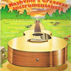 Discos de vinilo: NASHVILLE GREATEST INSTRUMENTALISTS VOL II - JERRY REED, CHET ATKINS, DOUG KERSHAW - LP 1974. Lote 150340074