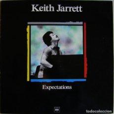 Discos de vinilo: KEITH JARRETT-EXPECTATIONS , CBS-LSP-982233-1. Lote 150341410