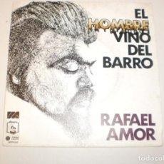 Discos de vinilo: RAFAEL AMOR. EL HOMBRE VINO DEL BARRO. PAÍS DE LINO. DIRESA 1974 SPAIN (PROBADO Y BIEN, SEMINUEVO). Lote 150342190