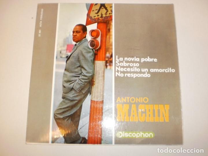 ANTONIO MACHÍN. LA NOVIA POBRE. SABROSO. NECESITO UN AMORCITO. NO RESPONDO. DISCOPHON1965 SPAIN (Música - Discos - Singles Vinilo - Grupos y Solistas de latinoamérica)