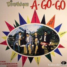 Discos de vinilo: THE CAMBRIDGE STONES – DISCOTHEQUE A GO-GO LP 10, ALBUM SURF, GARAGE ROCK. Lote 150343054