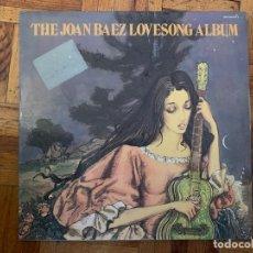 Discos de vinilo: JOAN BAEZ ?– THE JOAN BAEZ LOVESONG ALBUM SELLO: VANGUARD ?– 500-149/140 S FORMATO: 2 × VINYL, LP. Lote 150351706
