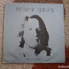 Discos de vinilo: LP. PETER GRAY. THE LON RUN. AÑO 1981. Lote 150352206