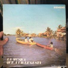 Discos de vinilo: LA MUSICA QUE A UD. LE GUSTA (BEE GEES,RINGO STARR,GEORGE BAKER ETC...) SAMBA . Lote 150353258