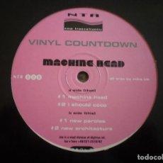 Discos de vinilo: MAXI 12 PULGADAS. VINYL COUNTDOWN. MACHINE HEAD.. Lote 150353314