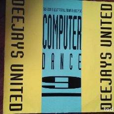 Dischi in vinile: DEEJAYS UNITED-COMPUTER DANCE 9.MAXI. Lote 150358194