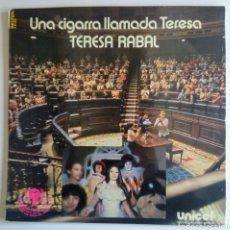 Discos de vinilo: L.P. UNA CIGARRA LLAMADA TERESA. 1979.. Lote 150359985