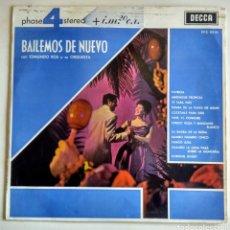 Discos de vinilo: LP. BAILEMOS DE NUEVO. EDMUNDO ROS. 1969.. Lote 150374694