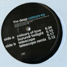 Discos de vinilo - The Deep - Colours EP - 1999 - 150425142