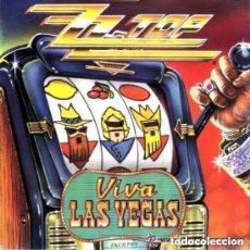 Discos de vinilo: ZZ TOP - VIVA LAS VEGAS - SINGLE UK 1992. Lote 150451166