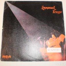 Discos de vinilo: SINGLE EMMANUEL. TENGO. EL ÚLTIMO DÍA DE OTOÑO. RCA 1983 SPAIN (PROBADO Y BIEN). Lote 152985910