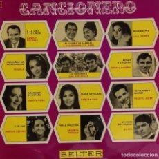Discos de vinilo: LP CANCIONERO. Lote 150481170