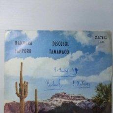 Discos de vinilo: CONJUNTO NUEVA ONDA - EP ZETA 1976 KANDARA/ SAPPORO/ DISCOSOL/ TAMANACO - SPANISH GROOVE- MUY RARO -. Lote 150486422