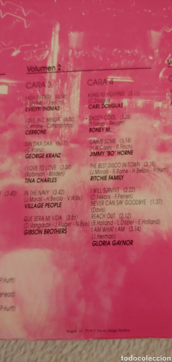Discos de vinilo: QUE NO PARE LA MUSICA 44 Disco hits 1992. TRES DISCOS - Foto 4 - 150491572