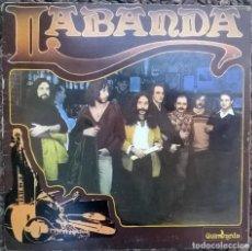 Discos de vinilo: LABANDA. LABANDA. CFE-GUIMBARDA, SPAIN 1980 PRIMER LP ORIGINAL + DOBLE CARPETA. Lote 150515390