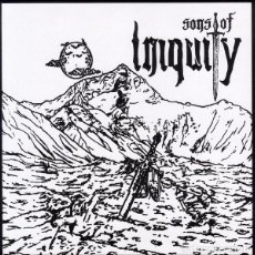 Discos de vinilo: SONS OF INIQUITY - HANG EM HIGH / 'TILL WE MEET AGAIN - 7'' [HMH RECORDS, 2017]. Lote 150516106