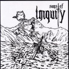Discos de vinilo: SONS OF INIQUITY - HANG EM HIGH / 'TILL WE MEET AGAIN - 7'' [HMH RECORDS, 2017]. Lote 150516106