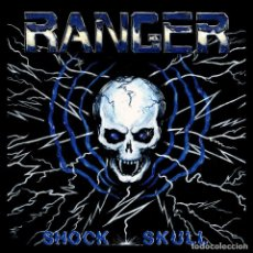 Discos de vinilo: RANGER - SHOCK SKULL - 7'' [FULL CONTACT RECORDS, 2015 · REEDICIÓN]. Lote 150516562