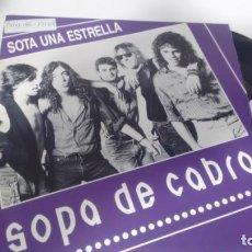 Disques de vinyle: SINGLE (VINILO) DE SOPA DE CABRA AÑOS 90. Lote 150517818