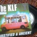 Discos de vinilo: SINGLE (VINILO) DE THE K L F AÑOS 9'0. Lote 150518458