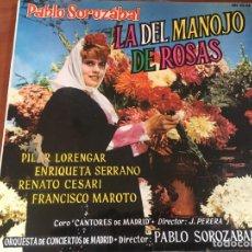 Discos de vinilo: LA DEL MANOJO DE ROSAS - PABLO SOROZABAL. Lote 150524622